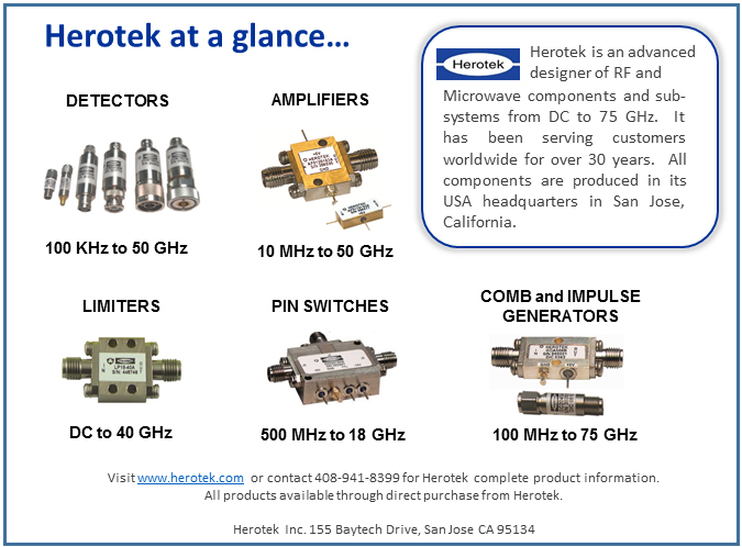 Herotek, Inc  RF and Microwave Components